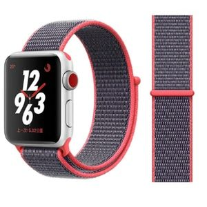 NEW Electronic Pink Loop Band For Apple Watch